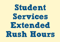 Student Services Extended Hours