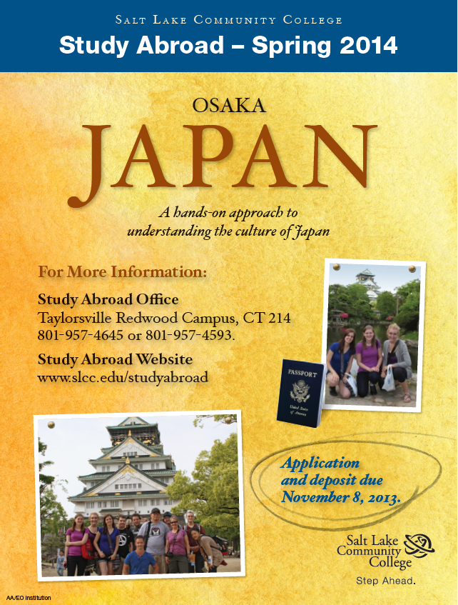 study program in japan essay Competition terms and conditions the study abroad award essay competition is open to students who want to study abroad at college level the cash award can be used to pay for living expenses as an international student.